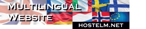 Multilingual Website | www.hostelm.net